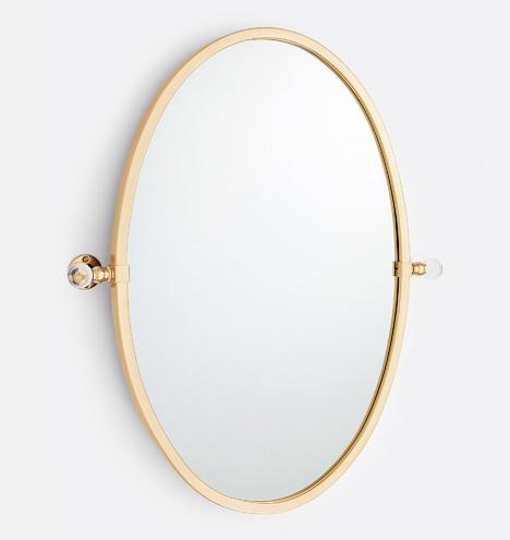 Pittock Oval Pivot Mirror Rejuvenation