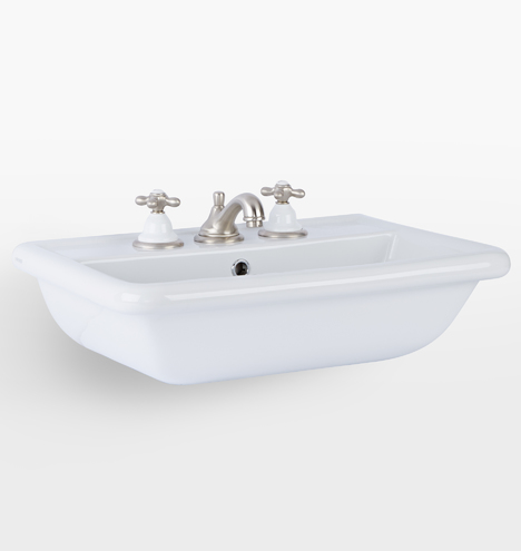 Bathroom sink Floating Rejuvenation Bathroom Sink Consoles Rejuvenation