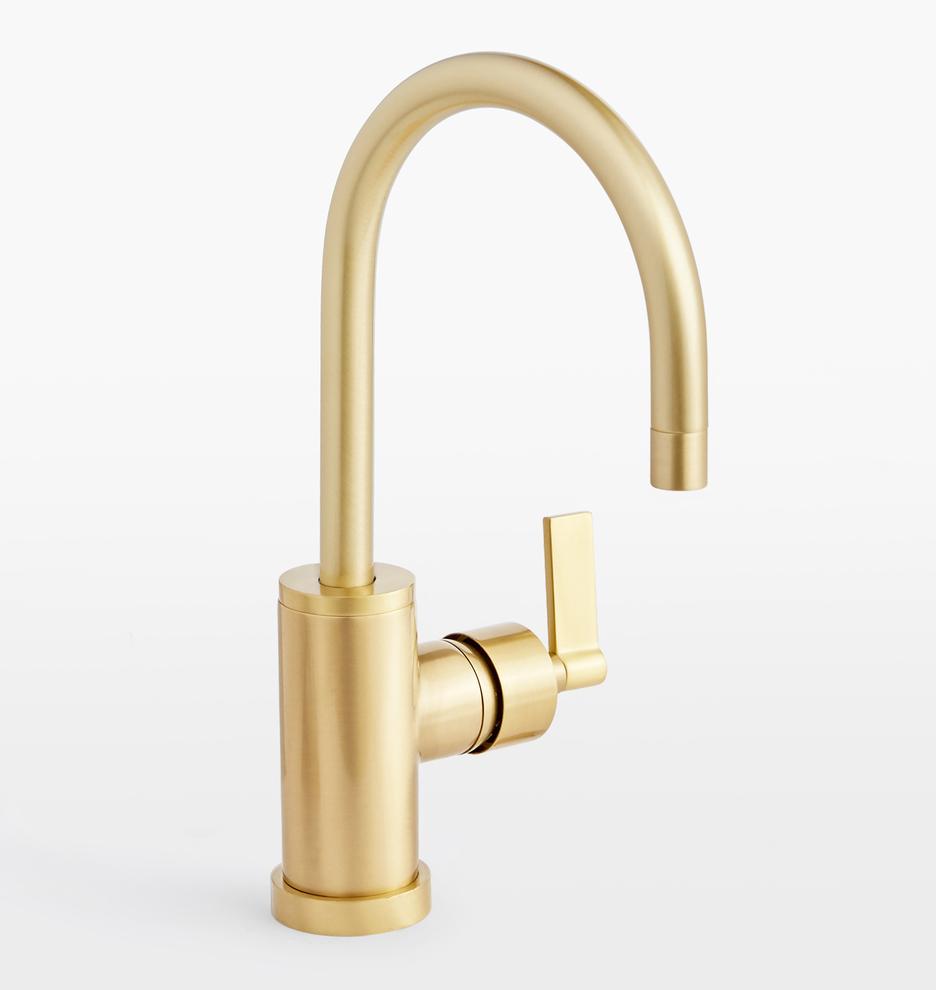 West Slope Lever Handle Single Hole Bathroom Faucet   Rejuvenation