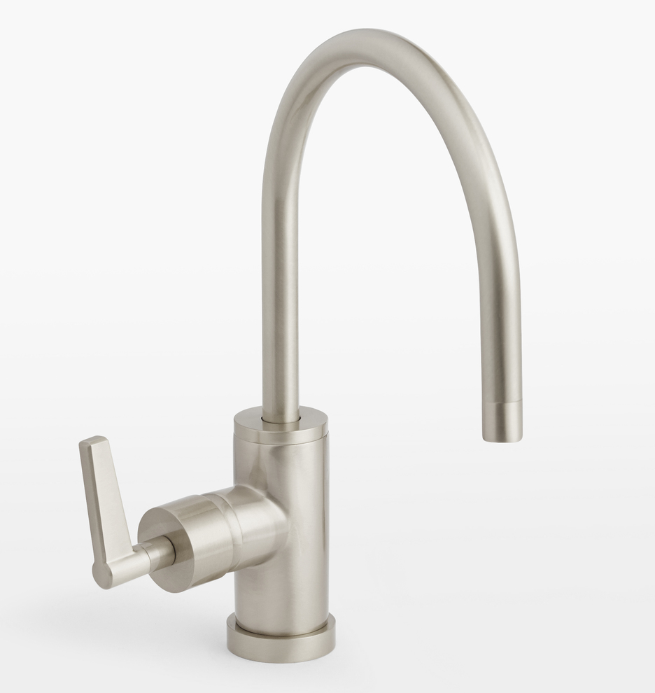 Blair Lever Handle Single Hole Kitchen Faucet