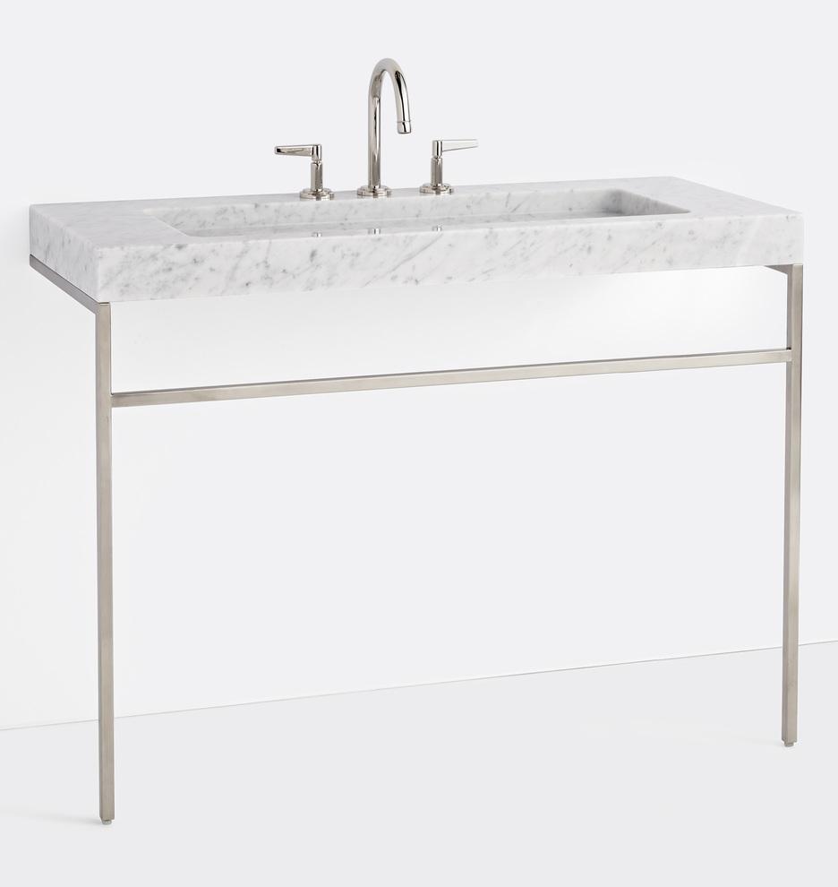 Winslow 8 Widespread Marble Vanity Rejuvenation