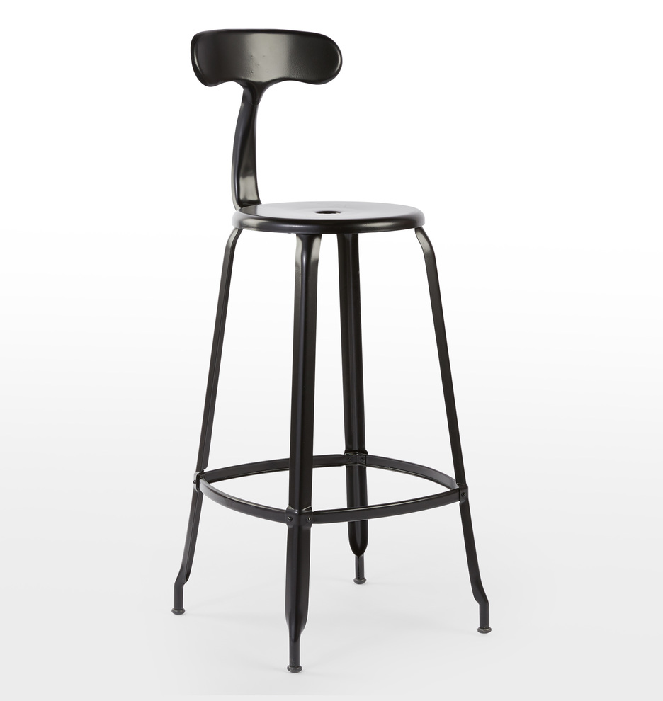 Magnificent Nicolle Bar Stool With Back Uwap Interior Chair Design Uwaporg
