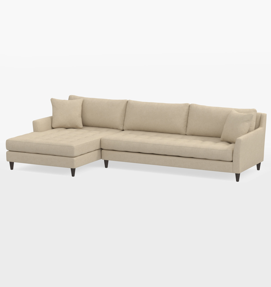 Miraculous Hastings Deep Sectional Sofa Left Chaise Pdpeps Interior Chair Design Pdpepsorg