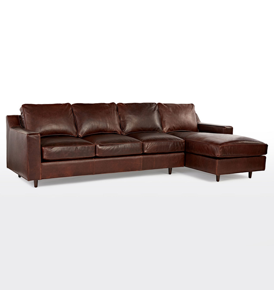Swell 114 Garrison Chaise Sectional Leather Sofa Andrewgaddart Wooden Chair Designs For Living Room Andrewgaddartcom