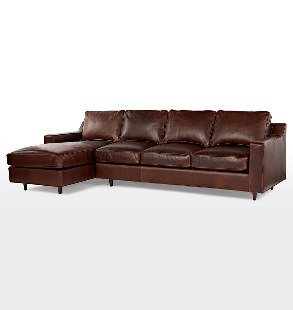 sleeper with sectional leather russcarnahan couch sofa tourdecarrollcom com chaise l