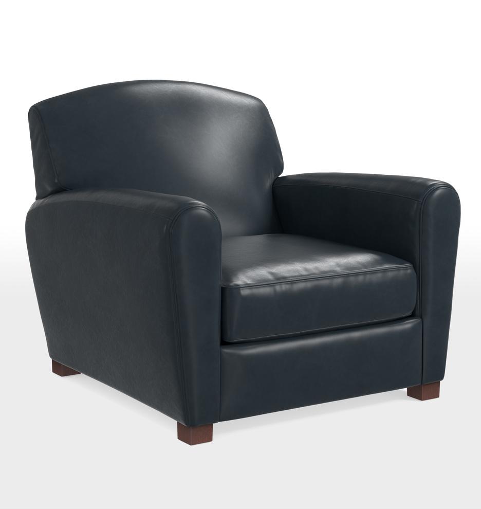 Doyle Leather Club Chair