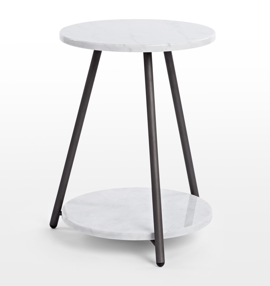 Strange Bridge Marble Side Table Gmtry Best Dining Table And Chair Ideas Images Gmtryco
