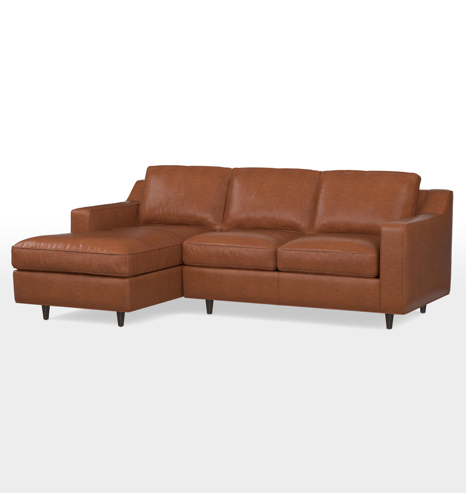 Awesome 89 Garrison Chaise Sectional Leather Sofa Alphanode Cool Chair Designs And Ideas Alphanodeonline