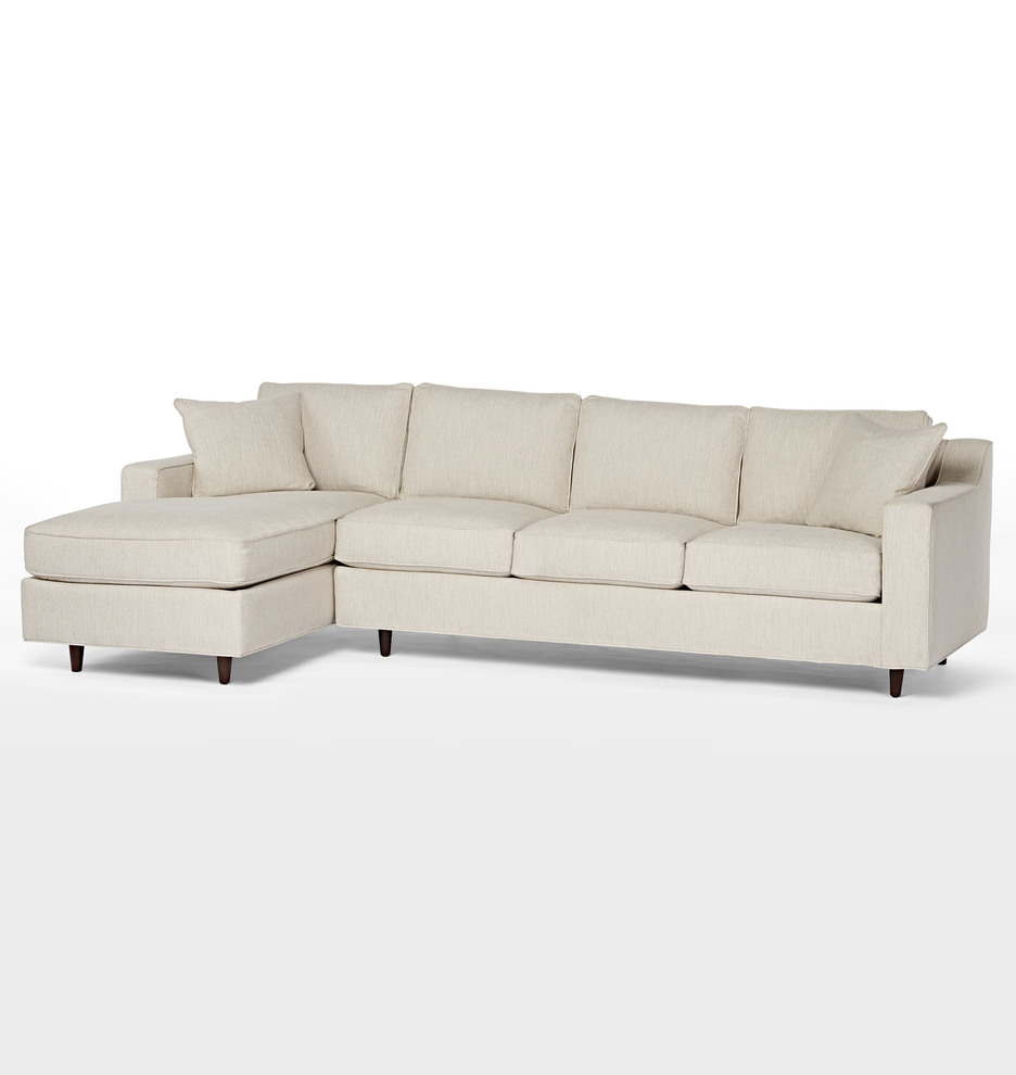 Miraculous 114 Garrison Chaise Sectional Sofa Left Chaise Pabps2019 Chair Design Images Pabps2019Com