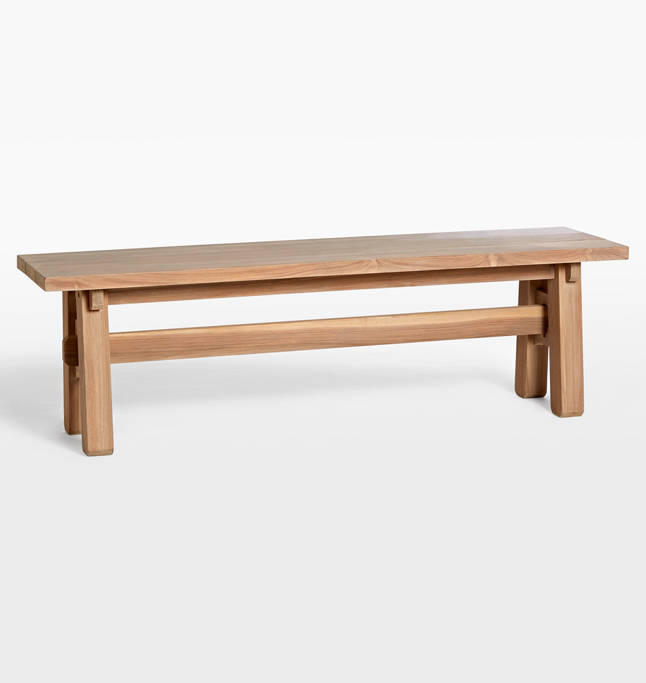 Phenomenal Ronde Teak Bench Pabps2019 Chair Design Images Pabps2019Com