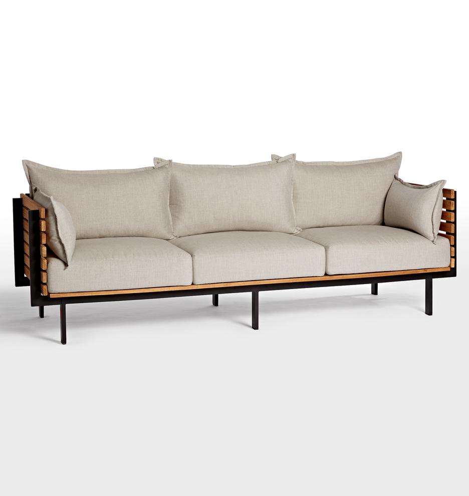 Jasper Teak Sofa | Rejuvenation