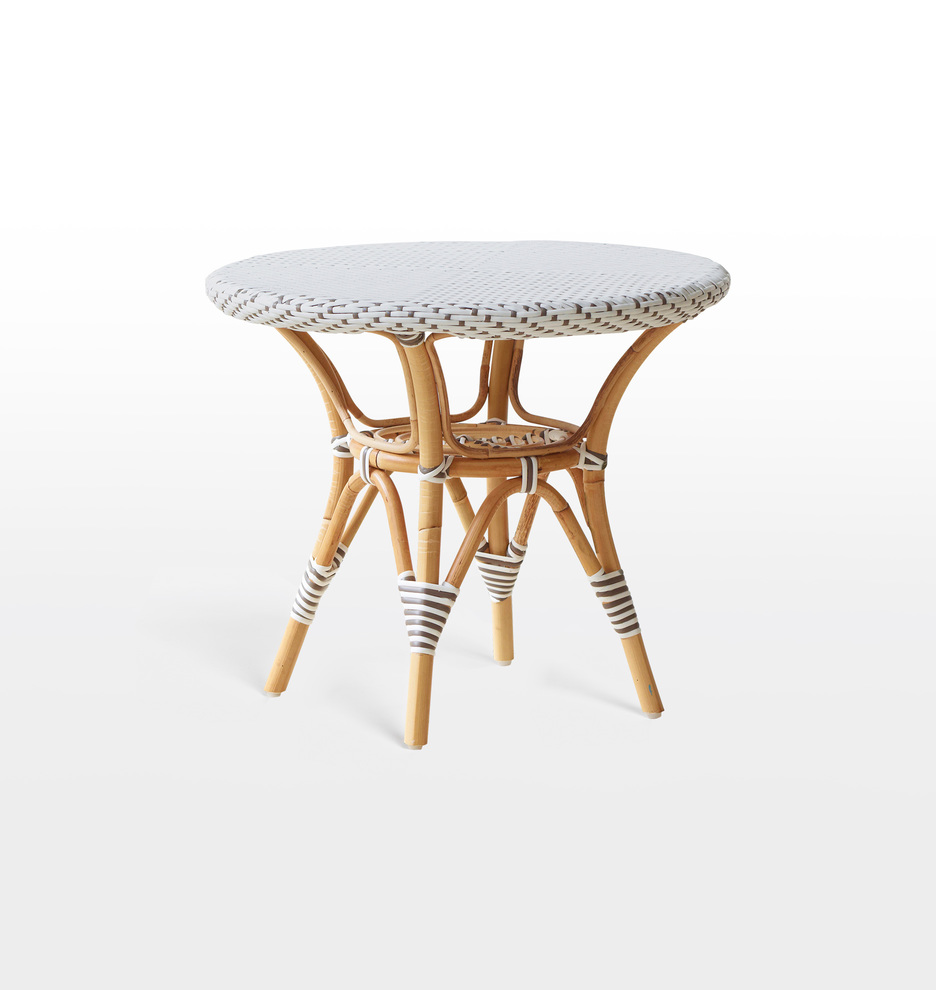 D3069 sikadesign daniellesidetable whitewithcappuccinodots d3069
