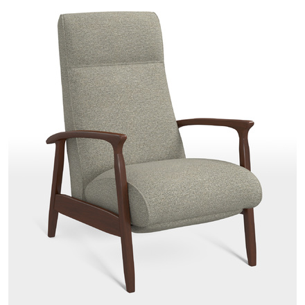 glenn walnut recliner chair rejuvenation