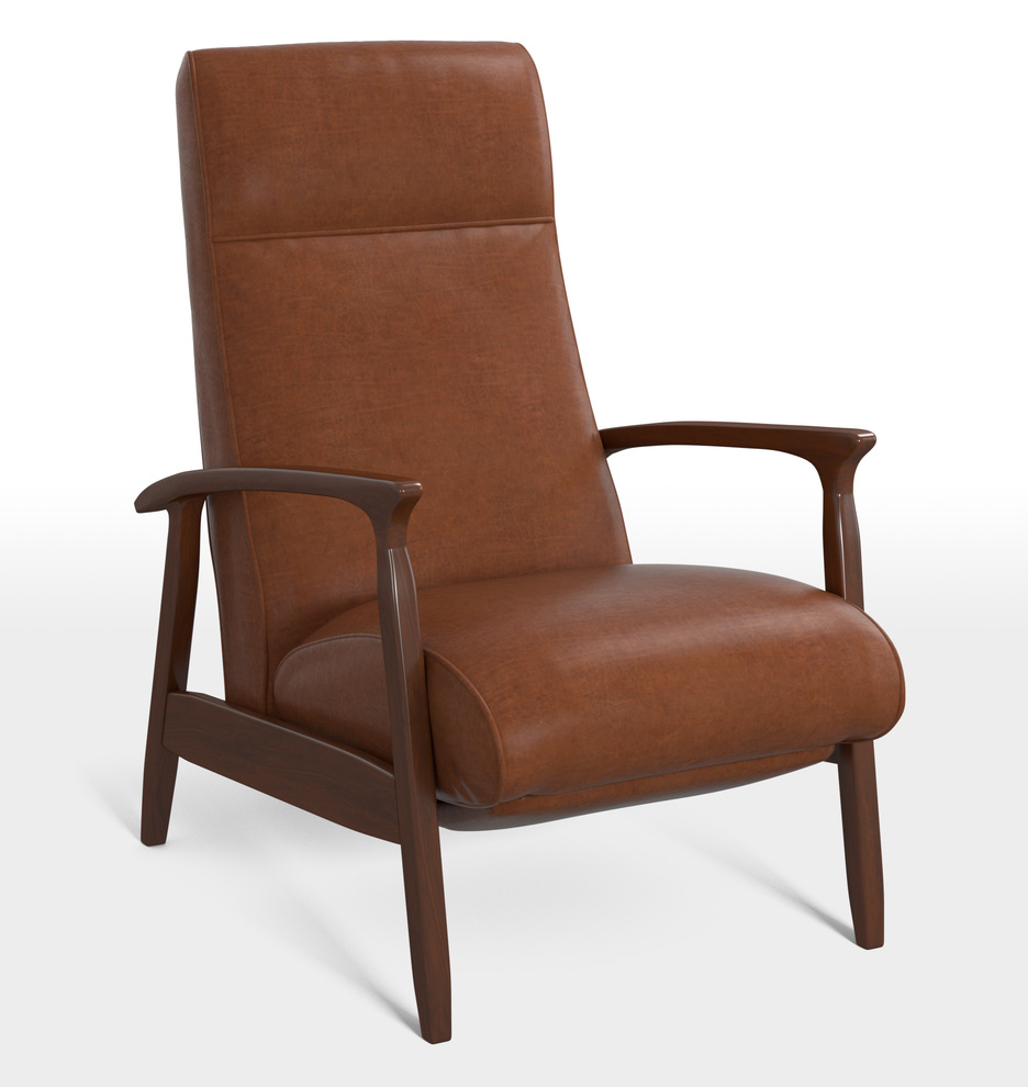 free nicholas stress leather products recliner