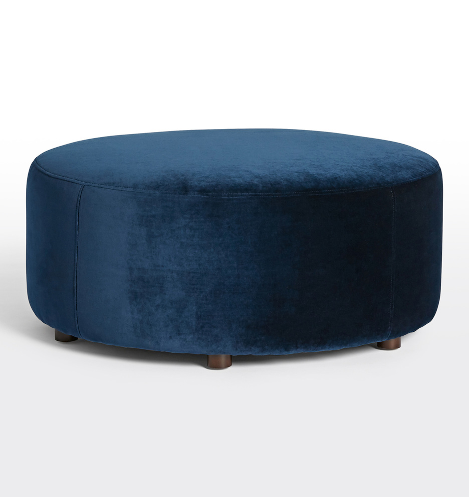 36 Worley Round Ottoman Rejuvenation