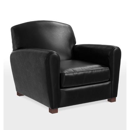 Stupendous Doyle Leather Club Chair Uwap Interior Chair Design Uwaporg