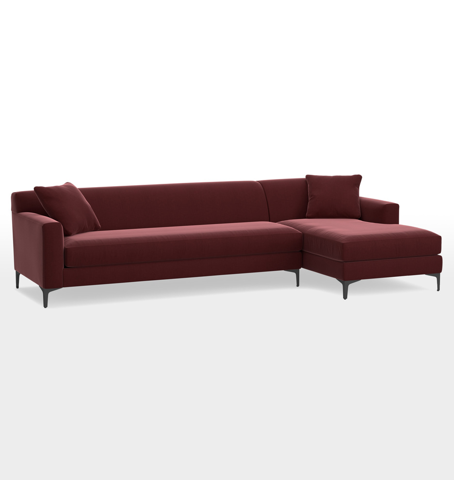 Hawthorne Sectional Sofa - Chaise Right