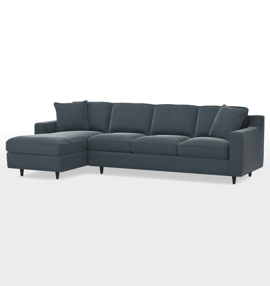 Awe Inspiring 114 Garrison Chaise Sectional Sofa Left Chaise Gamerscity Chair Design For Home Gamerscityorg