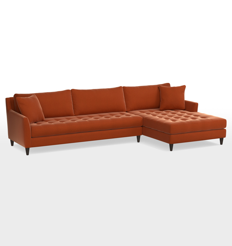 Hastings Sectional Sofa - Right Chaise | Rejuvenation