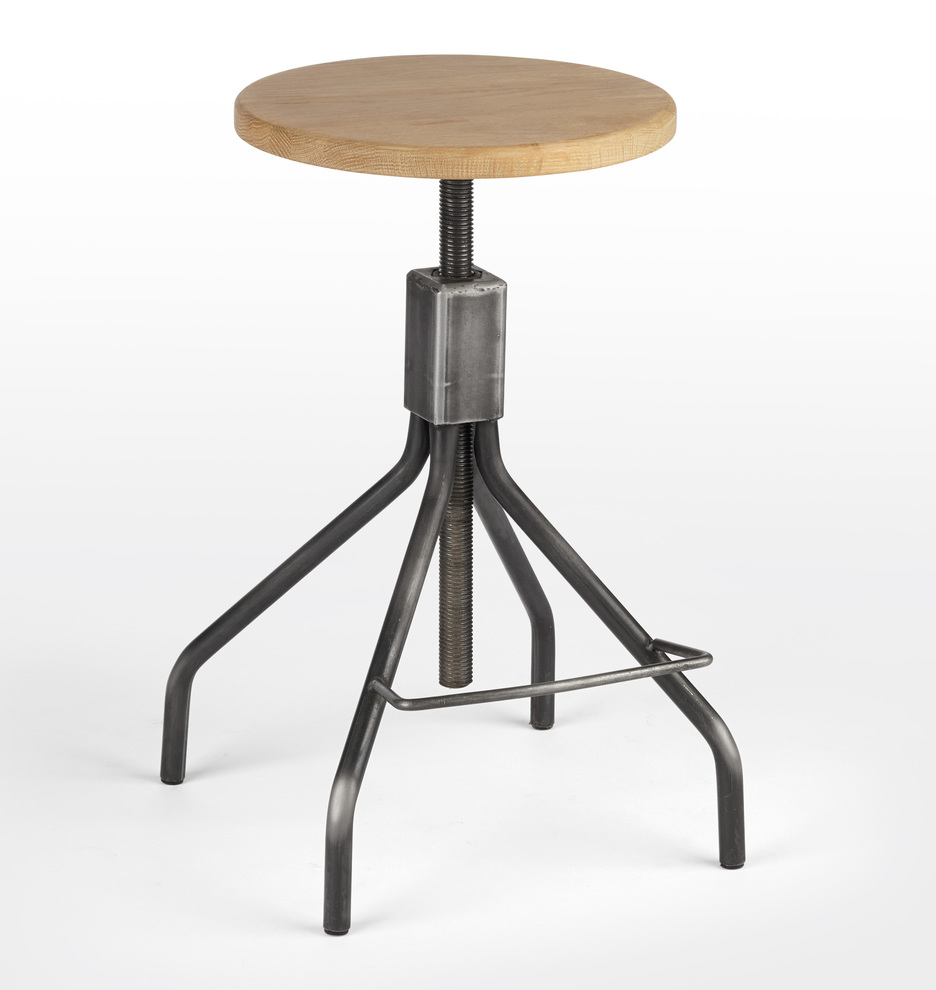 Excellent Industrial Stool Andrewgaddart Wooden Chair Designs For Living Room Andrewgaddartcom