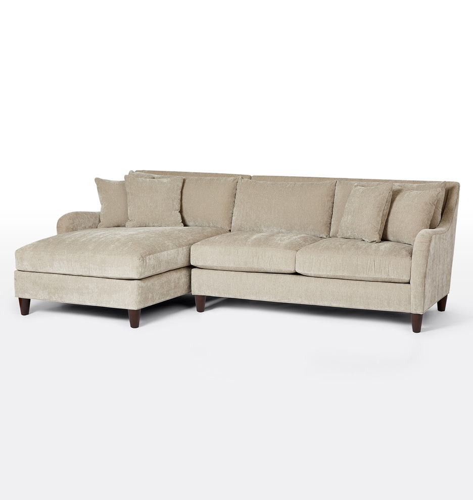 Vailer 2-Piece Chaise Sectional Sofa - Left Chaise