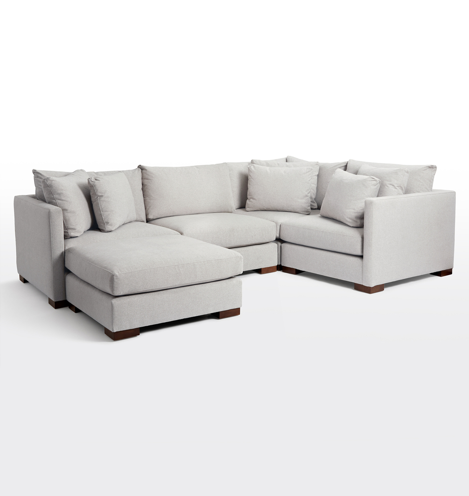 Wrenton 5-Piece Chaise Sectional Sofa