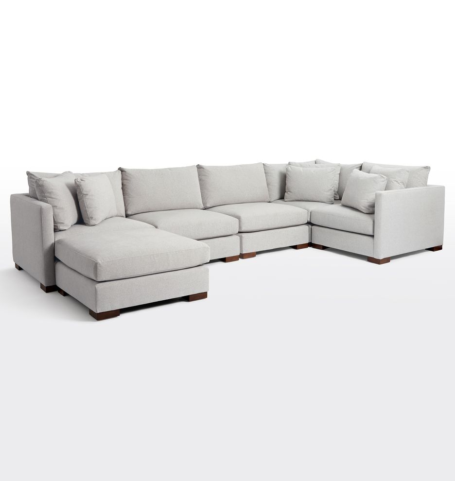 Wrenton 6-Piece Chaise Sectional Sofa