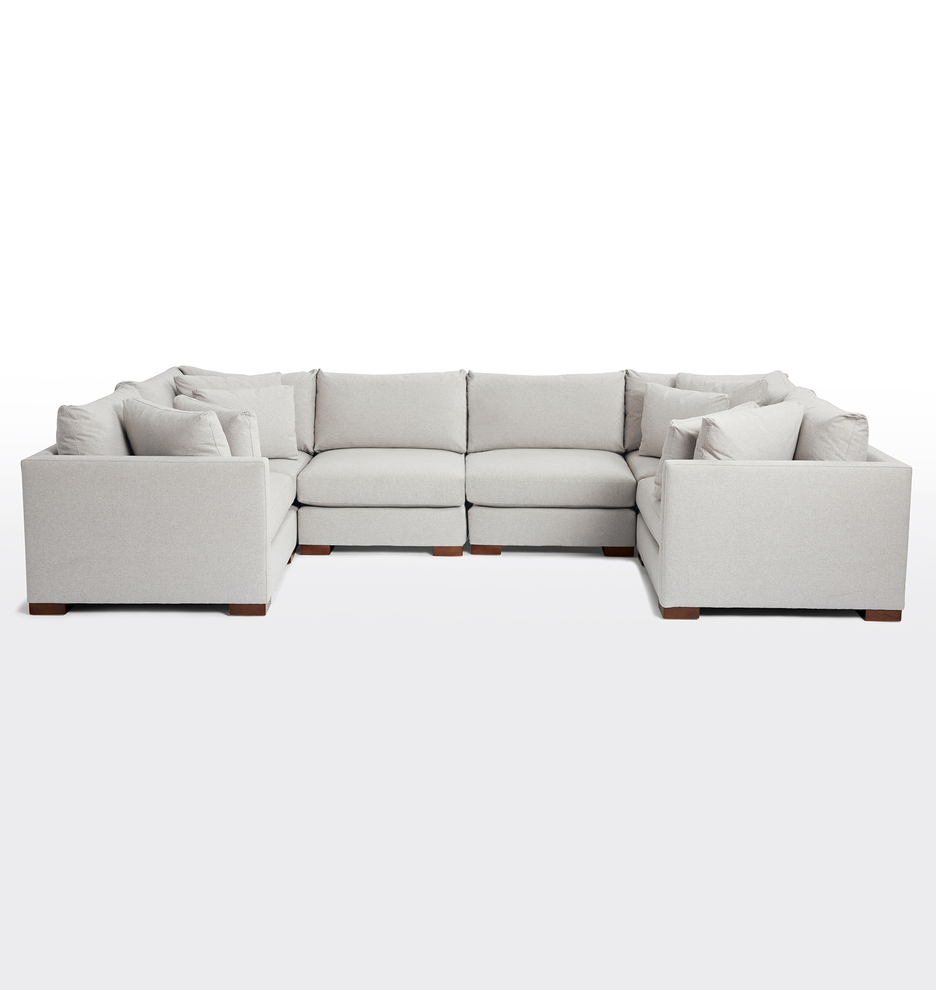 Wrenton 6-Piece U-Shape Sectional Sofa