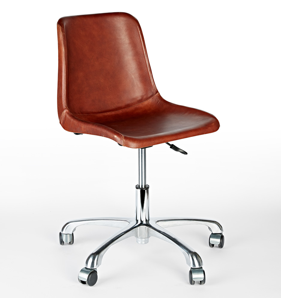 Bond Leather Desk Chair