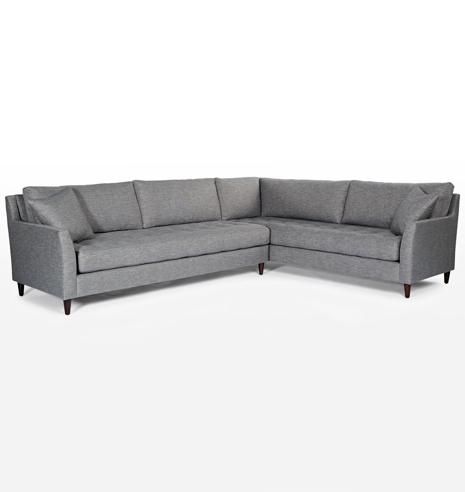 Wondrous Hastings Sectional Sofa Left Arm Andrewgaddart Wooden Chair Designs For Living Room Andrewgaddartcom
