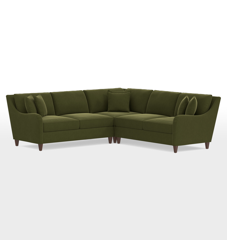 factory price 08b68 96aab Vailer 3-Piece Sectional Sofa