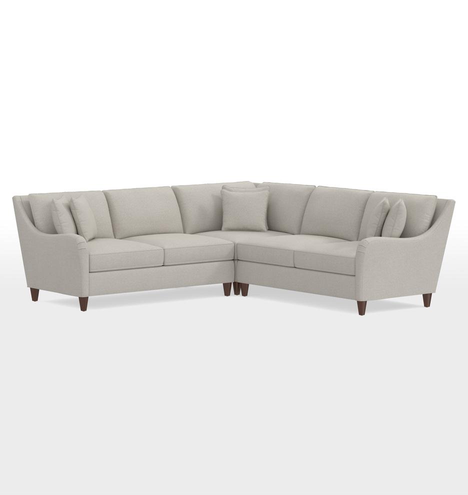 Vailer 3-Piece Sectional Sofa