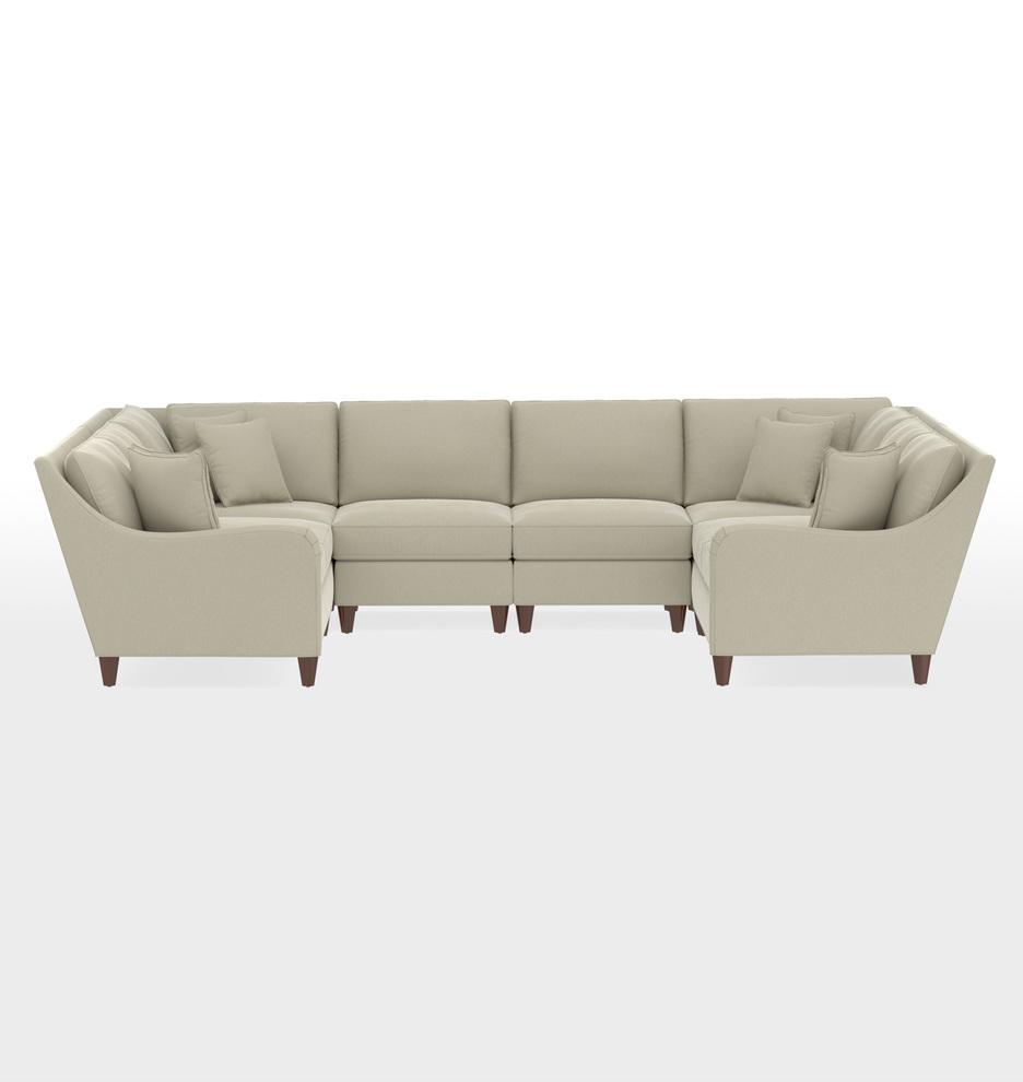 Vailer 6-Piece U-Shape Sectional Sofa