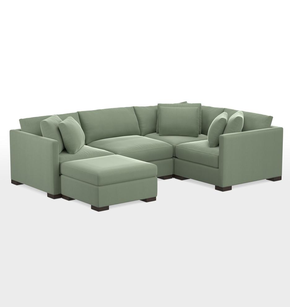 Excellent Wrenton 5 Piece Chaise Sectional Sofa Ibusinesslaw Wood Chair Design Ideas Ibusinesslaworg