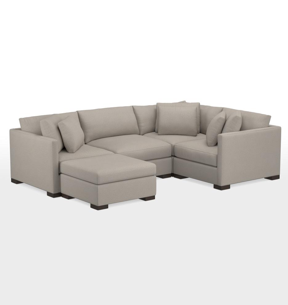 Astonishing Wrenton 5 Piece Chaise Sectional Sofa Download Free Architecture Designs Scobabritishbridgeorg