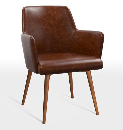 Dexter Leather Arm Chair Rejuvenation