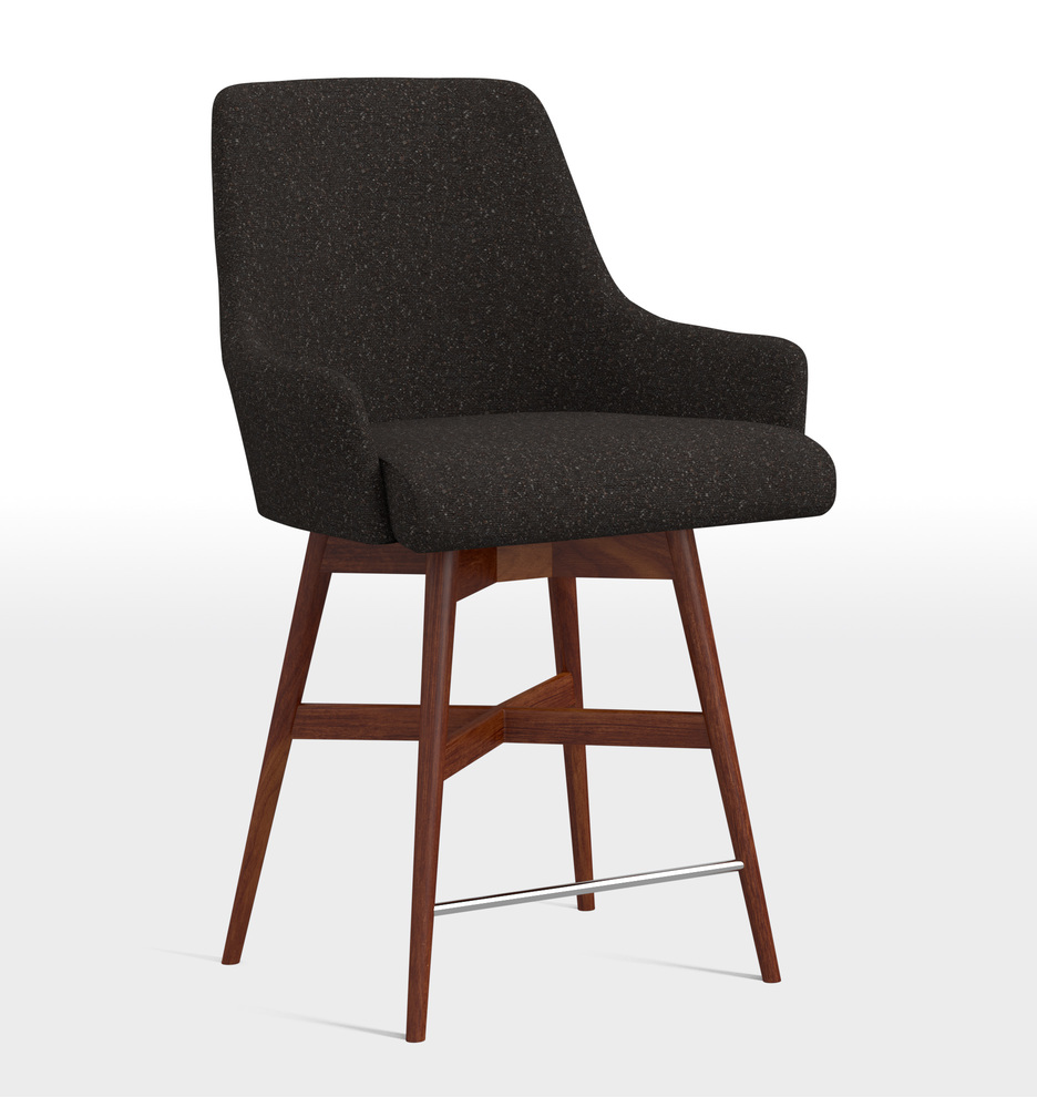 Fine Dexter Swivel Counter Stool Short Links Chair Design For Home Short Linksinfo