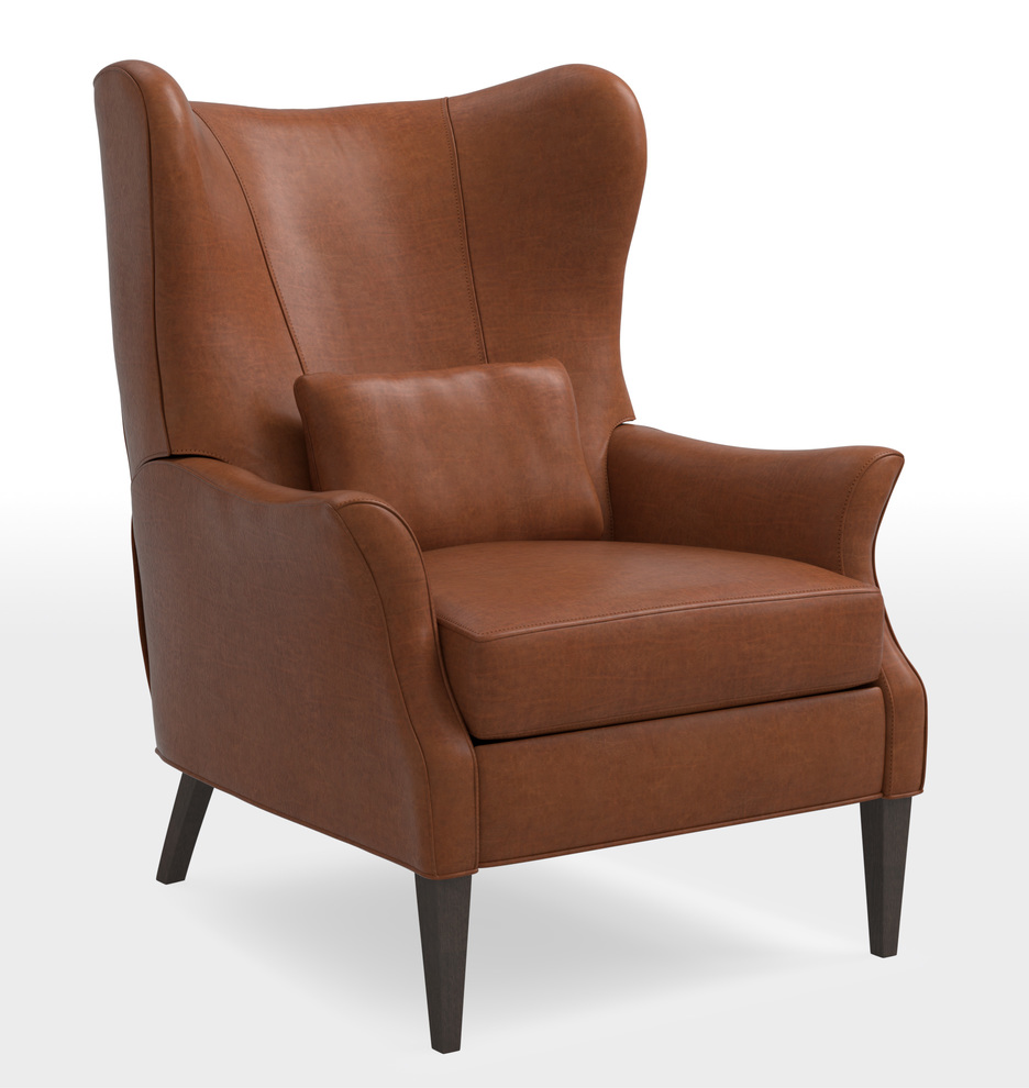 Swell Clinton Modern Wingback Leather Recliner Chair Onthecornerstone Fun Painted Chair Ideas Images Onthecornerstoneorg