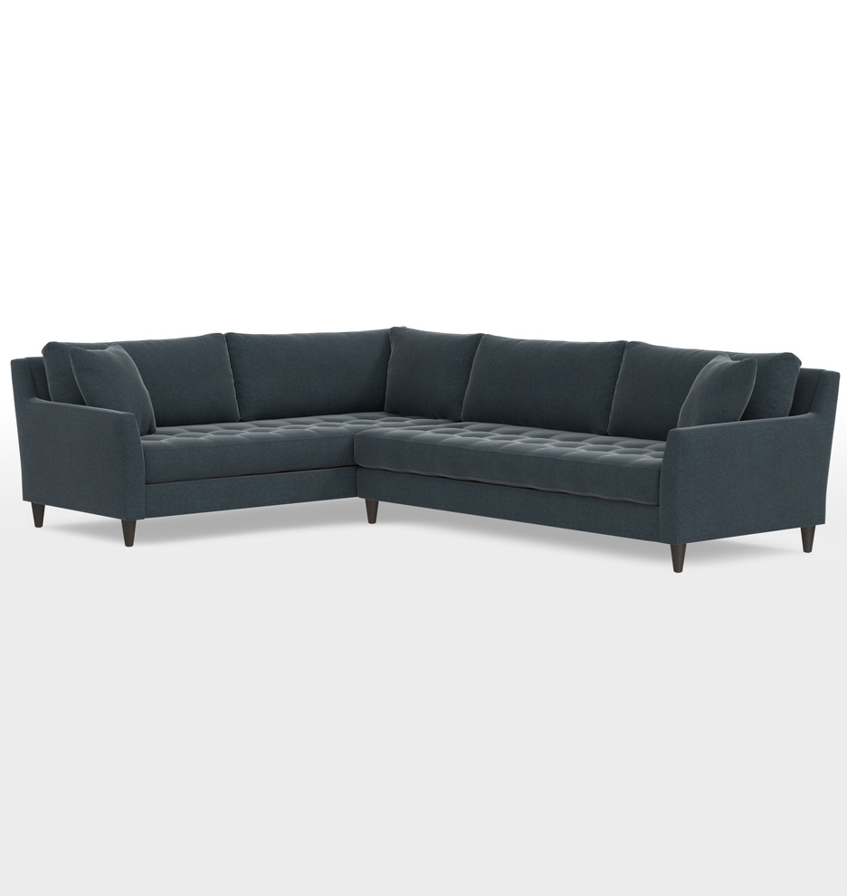 Cool Hastings Deep Sectional Sofa Right Arm Gmtry Best Dining Table And Chair Ideas Images Gmtryco