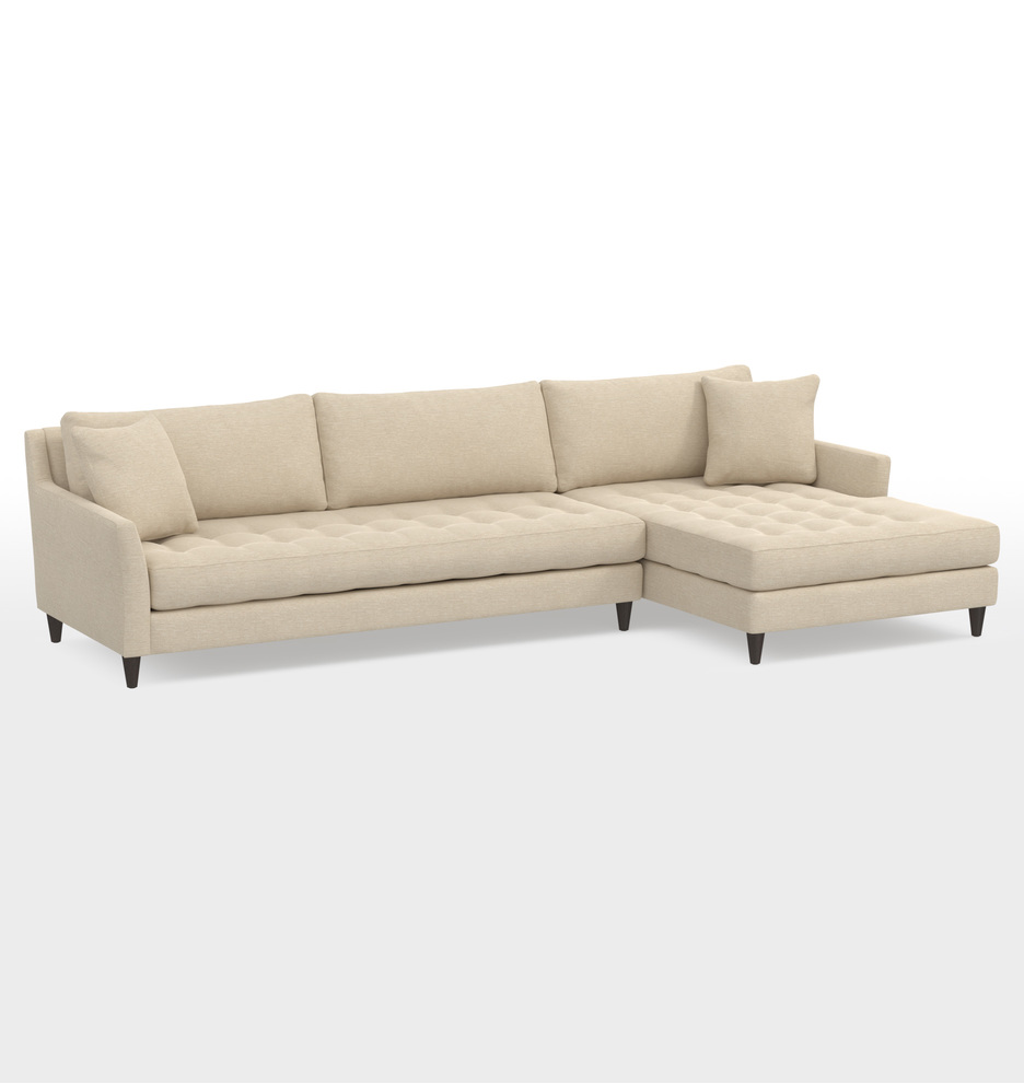 Admirable Hastings Deep Sectional Sofa Right Chaise Pdpeps Interior Chair Design Pdpepsorg