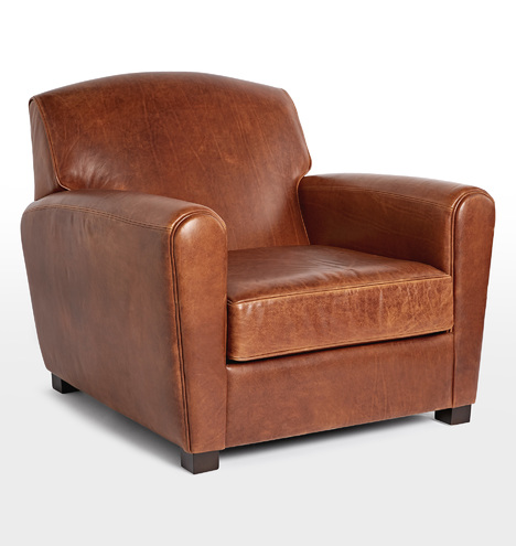 Doyle Leather Club Chair Rejuvenation