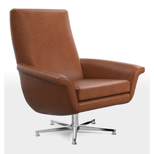 Brogan Leather Swivel Chair