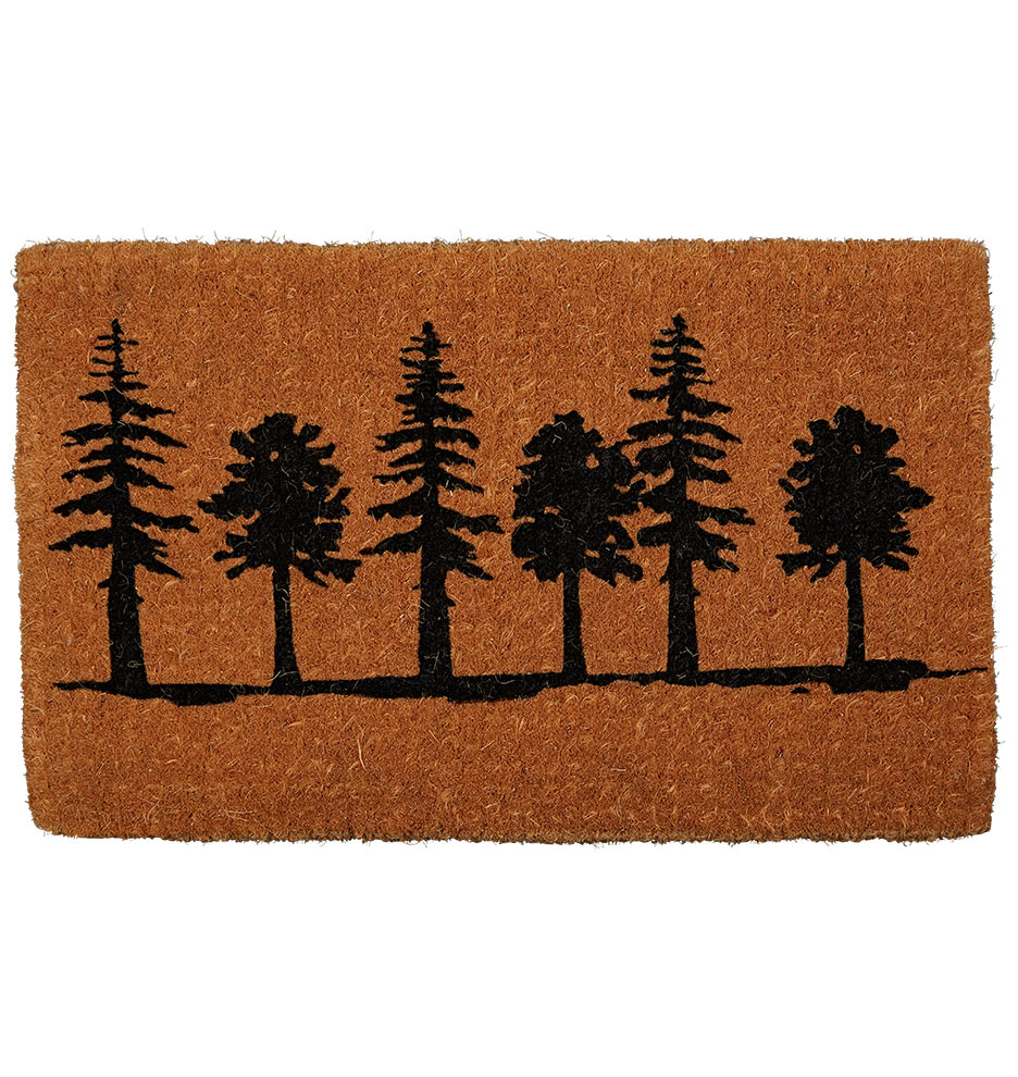 Tree Silhouette Doormat | Rejuvenation