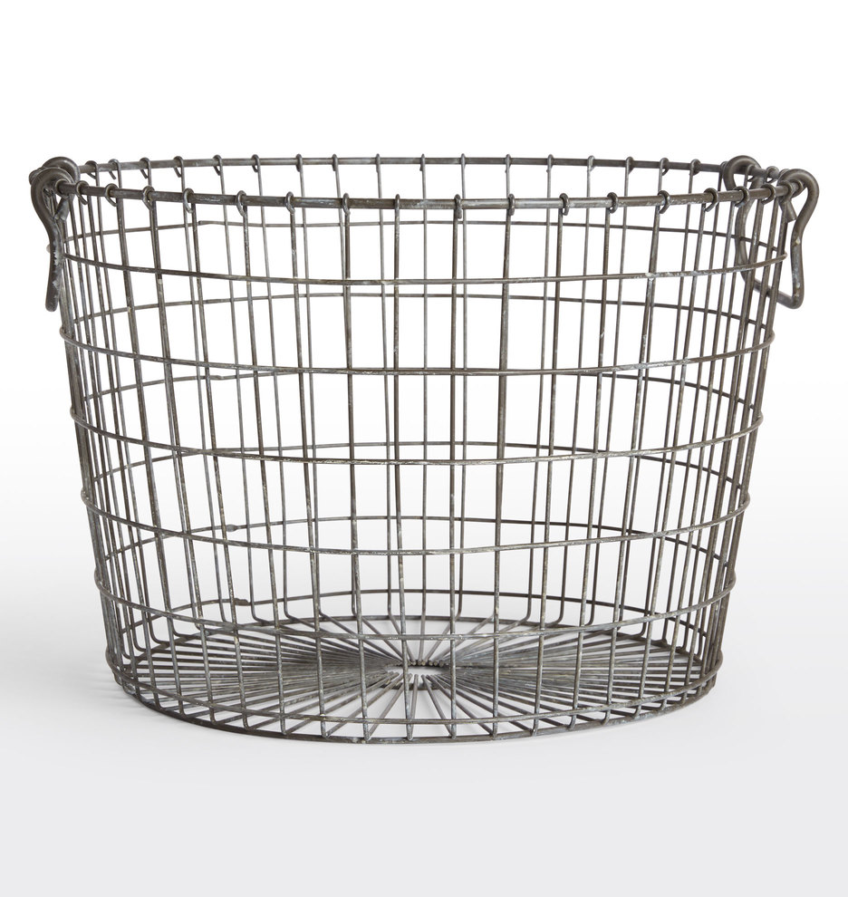 Round Wire Basket | Rejuvenation