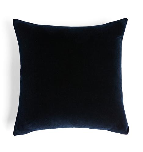 Italian Velvet Pillow Cover Midnight Rejuvenation