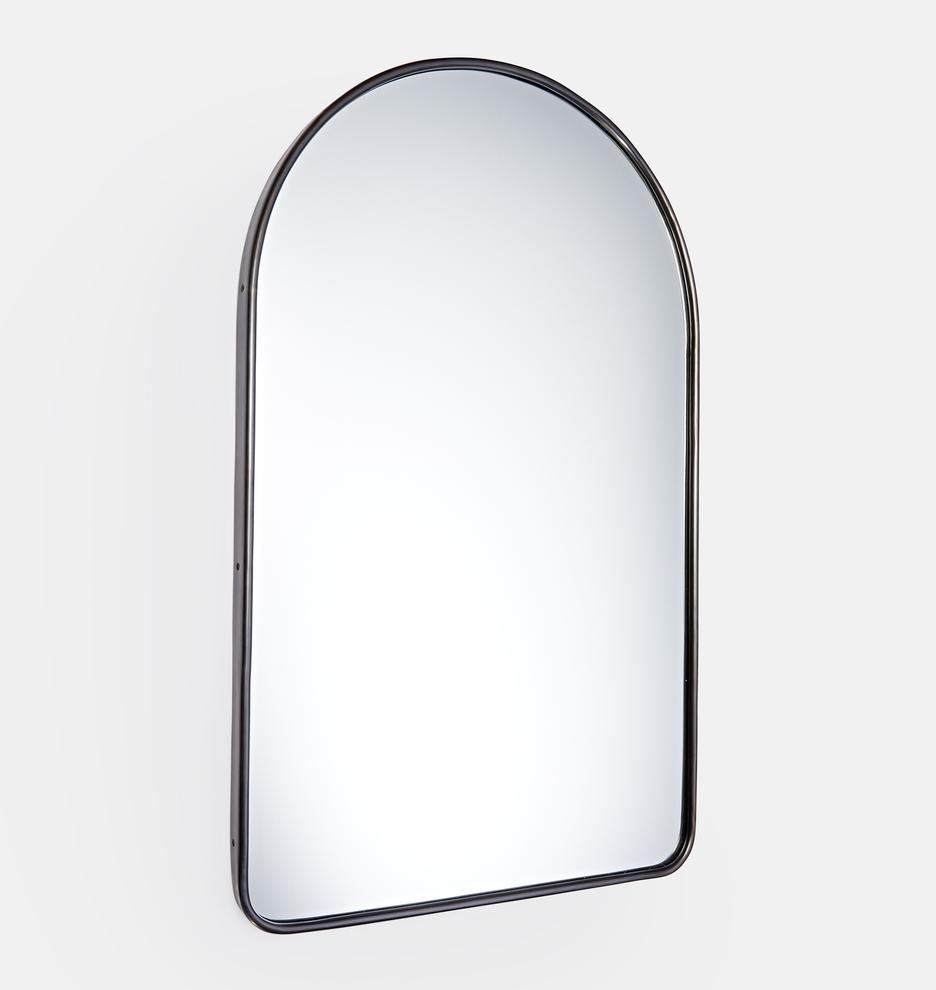 Oil Rubbed Bronze Arched Metal Framed Mirror Rejuvenation