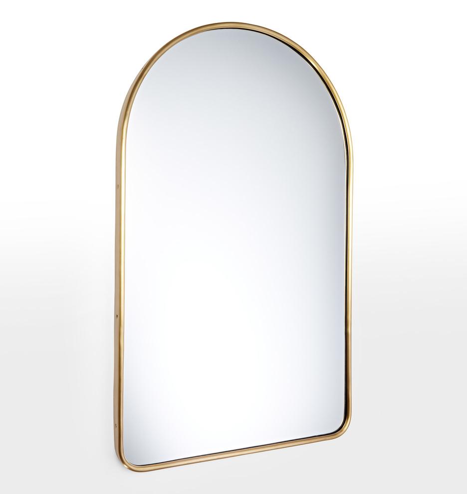Arched Metal Framed Mirror   Rejuvenation