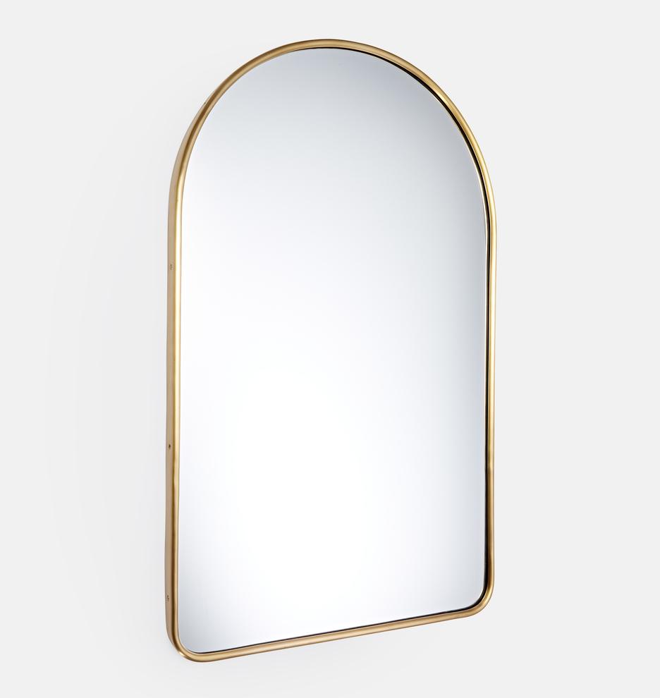 Arched Metal Framed Mirror | Rejuvenation