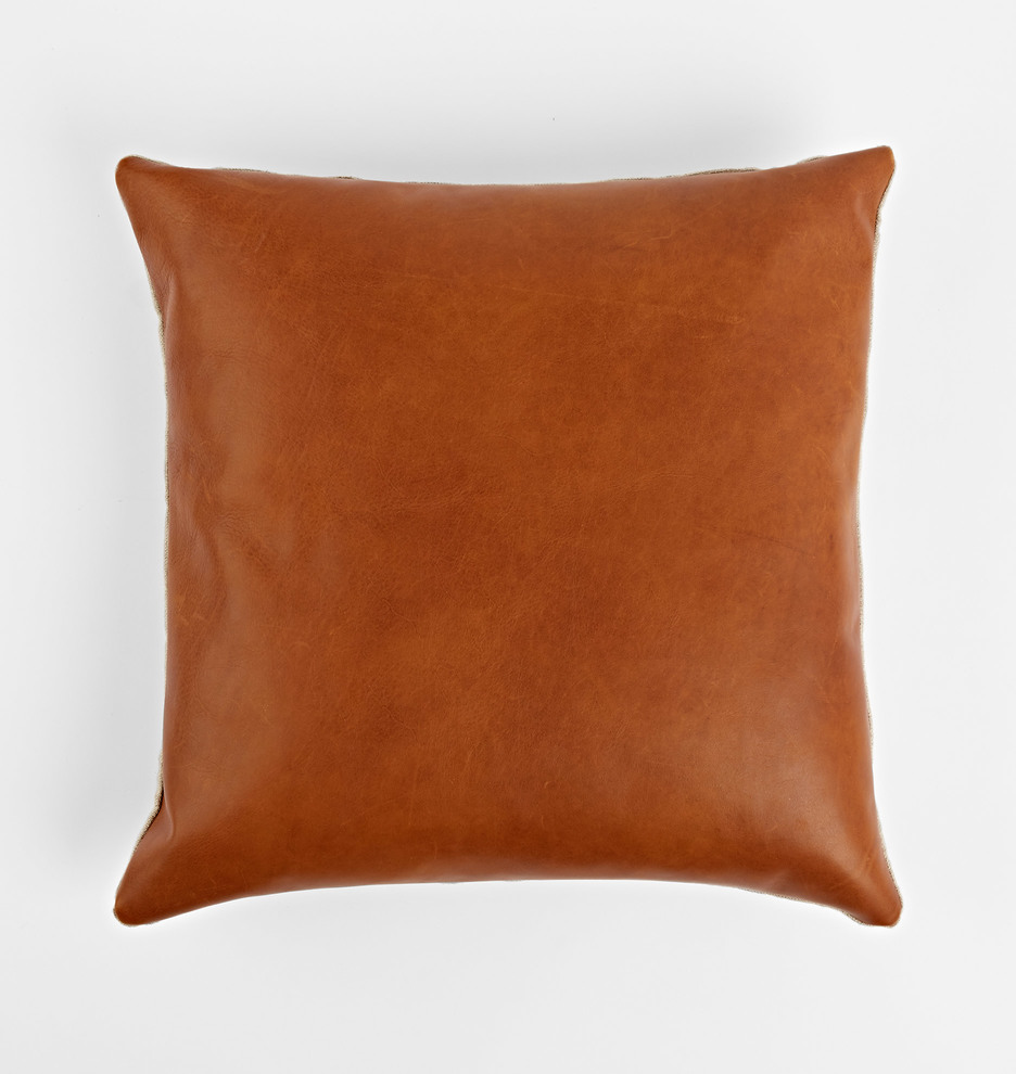 Leather Pillow Cover | Rejuvenation