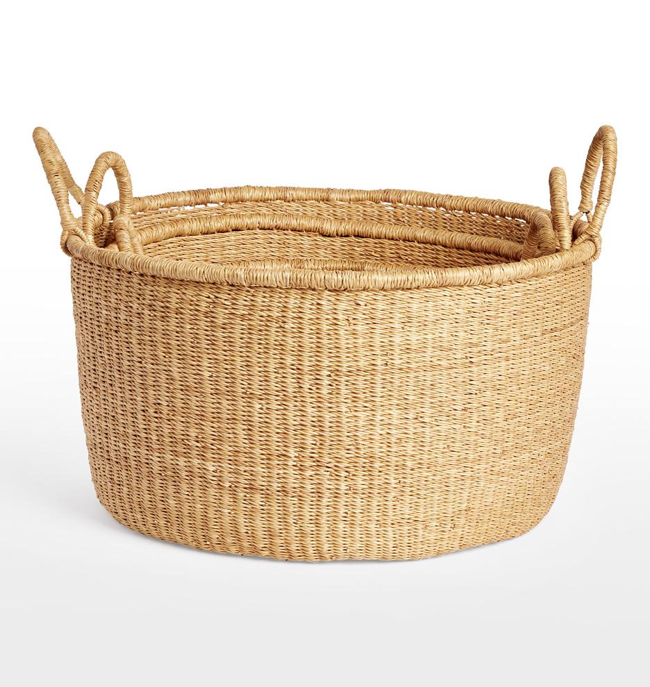 Natural Woven Baskets | Rejuvenation